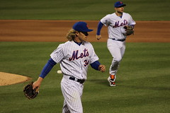 """Another good pitching outing for """"Thor"""" (Hazboy) Tags: noah new york nyc ny game sports field sport baseball queens april thor mets mlb citi flushing beisbol 2016 hazboy hazboy1 syndergaard"""