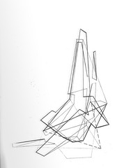 geometry.005 (Justin B Martin) Tags: lines triangles pencil paper sketch drawing geometry sketching