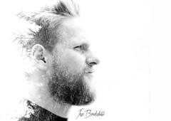 Tree Beard (Jez Bradshaw Photography) Tags: portrait white black tree canon beard photography mono exposure 85mm double 5d usm 18 jez bradshaw mk3