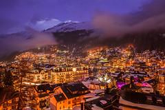 Zermatt by night (Explorean) Tags: nightphotography alpes suiza invierno zermatt