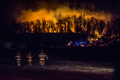 DD HWY-Field Fire-3 (Mather-Photo) Tags: winter night fire lowlight wind smoke flames burning burn damage emergency firefighters charred 2014 firstresponders fieldfire emergencypersonnel andrewmather matherphoto andrewmatherphotography