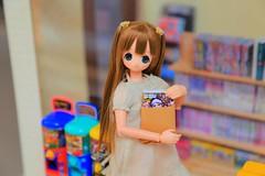 Chiika is very happy because she get this new magazine! (Ariya Mari) Tags: