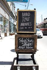 new arrivals (theharv58) Tags: lightandshadows doors photographers painters catwalk graffitiart canon60d artinvariousforms canoneos60d canonefs18200mmislens bonsaiart canonefs18200mm13556islens topwpkdl topwpkdltorontophotowalkparkdale