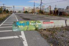 Liberty State Park (NJphotograffer) Tags: park new liberty graffiti state no nj save jersey to graff say libertystatepark lsp commercialization