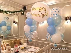 Hongi's Hen Night 👰  ขอบคุณนะคะคุณแพม สั่งลูกโป่งเซอร์ไพร์สเพื่อนสุดที่รัก ช่อนี้ใหญ่ไม่มากแค่ชนเพดานอ่าา อลังการเฟ่อร์ จะช่อเล็กช่อใหญ่เราทำให้ได้นะคะ ทักไลน์ @balloonions งานด่วนโทรหาได้เลยนะคร้าาา #balloonions #แม่ค้าใจดีมว้ากก #ไม่มีเห