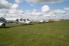 Eurostars at Sywell (nickthebee) Tags: aircraft microlight sywell ev97eurostar ev97flyin2016