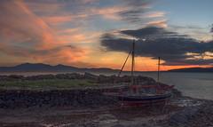 High and Dry at Sunset (john.gilmore57) Tags: sunset scotland nikon harbour yacht tokina1116mm d7200