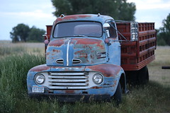 Retired Ford Farm Truck