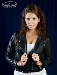 100822_Kat_Dionna_1557 (newspaper_guy Mike Orazzi) Tags: portrait leather studio model nikon blueeyes flash redhead jacket katharine d3 strobist 2470mmf28g