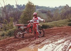 Viarengo Piero (motocross anni 70) Tags: honda 1981 motocross 250 fango motocrosspiemonteseanni70 pieroviarengo