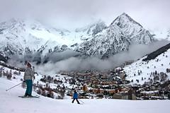 Aiguille De Venosc (eye see sound) Tags: winter snow france alps landscape frenchalps l2a lesdeusalpes