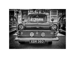 Victor (silver/halide) Tags: blackandwhite bw black classic monochrome vintage mono classiccar gm deluxe chrome 1950s d750 1960s rac vauxhall lucus johnbaker trevithickday vauxhallvictor xbm360