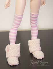 msd stocking (rustedcouture) Tags: skin ns chloe line bjd normal fairyland aline active minifee