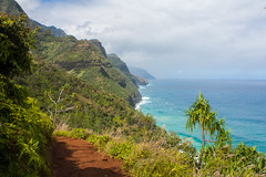 The Kalalau Trail (Dylan Childs) Tags: ocean vacation beach canon island hawaii coast paradise pacific hiking trail kauai tropical napali napalicoast