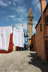 Distorsione in Burano  Venice 2015 (giorgia.grizi) Tags: city trip travel venice summer italy color canon landscape italia mare place destination venezia viaggio citt bestdestination