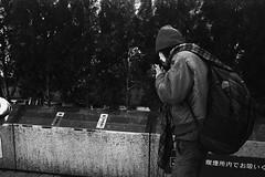 (monochrome hands) Tags: leica blackandwhite bw film japan 35mm 35 foma summaron supergrain retropan