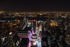 Madison Square Garden view (robe_mac) Tags: nyc longexposure light newyork night skyscraper luces arquitectura cityscape nightscape nocturna largaexposicion nuevyork
