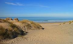 Life's a Beach (RoystonVasey) Tags: blue sea sky beach sunshine wales canon eos sand zoom walk neil m 1855mm stm snowdonia aberdovey aber snp dyfi