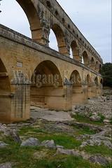 40080144 (wolfgangkaehler) Tags: bridge france water french europe european roman bridges unescoworldheritagesite aqueduct nimes pontdugard aqueducts southernfrance 2016 1stcenturyad gardonriver garddepartment