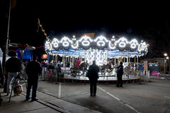This merry-go-round was one of the many fun activities for kids to enjoy at the 2nd annual Loveland Fire & Ice Festival. (Lydia's Style Magazine) Tags: fireandice