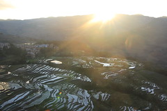 9107 Yuanyang (Akhal-Tk) Tags: china reflection nature landscape rice terrace unesco yunnan chine riz yuanyang