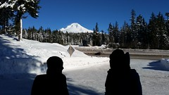 20160101_103046 (mjfmjfmjf) Tags: snow oregon trilliumlake 2016 snoeshoe