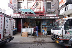 Nissun Seafood Wholesale | 93 Madison St | Chinatown | Manhattan | NYC (536) Tags: nyc newyorkcity sign shop chinatown manhattan storefront fishmarket shopfront