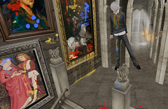 Pwetty... (drayton.miles) Tags: halloween idiot mess paint magic dick bob sl secondlife messy second bobby miles mm hogwarts mischief slytherin drayton managed hufflepuff gryffindor ravenclaw