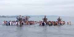 #6482 portable shrines in water