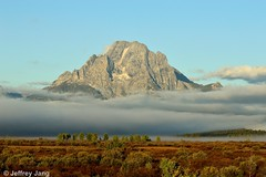 Mount Moran. Grand Teton National Park, WY, U.S.A. (Jeffrey Jang Photography) Tags: usa jeff nature landscape us nikon unitedstatesofamerica scenic jeffrey rockymountains wyoming mountmoran tetons jang tetonrange naturephotography grandtetonnationalpark wildplaces d3200 jeffreyjangphotography l045052013
