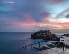 Forty Foot 23Jan16 7 (Helen Mulvey) Tags: longexposure ireland light sea sky dublin water sunrise outdoors dawn coast low fortyfoot