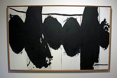 Elegy to the Spanish Republic No. 160, by Robert Motherwell (JB by the Sea) Tags: california painting winery napavalley napa winecountry abstractexpressionism robertmotherwell hesscollection december2015
