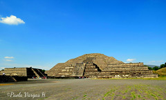 Teotihuacan - Mxico (vargaspaola660) Tags: sol del mexico zona templo arqueologica teotiuacan
