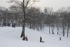 (kazancev2015) Tags: street bridge winter house snow geometry line