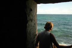 Door of No Return (EmperorNorton47) Tags: iledegoree senegal africa photo digital autumn fall morning houseofslaves stranger woman ocean doorofnoreturn historicbuilding door doorway worldheritagesite