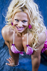 Fitness model - Blonde - Raw photos (unedited) (Rick Drew - 20 million views!) Tags: hot sexy ass panties back model tits underwear legs boobs muscle bra chick bighair bikini blonde bimbo bodybuilder shape workout fitness abs fit tanned