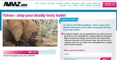 Yahoo/ Flickr stop your deadly ivory trade! (dib, l'home dibuixat) Tags: dead ivory murder elephants trade murderers ivorytrade ashamedtobeahuman