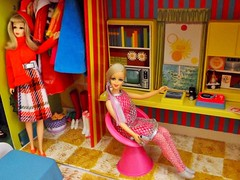 LET'S SWAP! (ModBarbieLover) Tags: 1971 mod doll barbie 1967 tnt francie twiggy