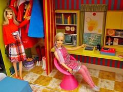 LET'S SWAP! (modBarbielover) Tags: 1971 mod doll barbie 1967 tnt francie twiggy