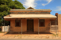 Former Commercial Bank, Cowangie (Darren Schiller) Tags: history abandoned architecture closed bank victoria disused verandah derelict deserted smalltown decaying mallee cowangie