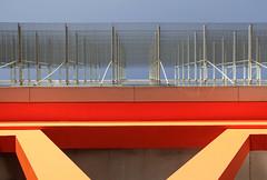 Lines everywhere (mennomenno.) Tags: abstract lines rotterdam geometry thenetherlands lookingup kopvanzuid lijnen geometrie luxortheater omhoogkijken