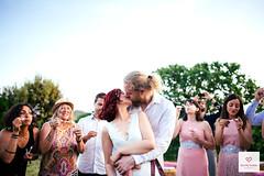 Rustic Wedding - Kiss (LaEmocionDeBea) Tags: wedding love vintage kiss rustic boda