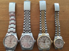 Vintage family watches (iBSSR who loves comments on his images) Tags: old family people heritage history yellow price lady vintage maastricht gold three high cool geek pyramid watches time roman quote swiss auction steel jubilee famous rich ivory dial style next wear collection story geeks leon automatic classics bracelet stunning legends end third why wrist wristwatch oyster selfwinding date tradition generations collectors numeral expensive stories chronometer rolex gents stainless reference perpetual 18k martens 36mm datejust fluted 15000 16013 16030 16233 rolexes 69173