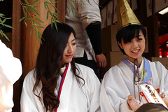 fukumusume, Imamiyaebisu-jinja, Osaka (jtabn99) Tags: girl japan lady shrine osaka naniwa   fukumusume  imamiyaebisujinja 20160111