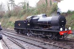 IMGP8392 (Steve Guess) Tags: uk england train engine railway loco hampshire steam gb locomotive bluebell alton 060 ropley alresford hants fourmarks medstead qclass 30541