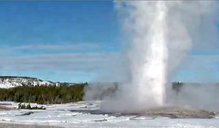 Old Faithful Geyser eruption (11:02-11:06 AM, 13 January 2016) (James St. John) Tags: old volcano group basin upper yellowstone wyoming geyser eruptions erupt eruption hotspot erupting faithful erupts