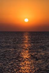 Sunrise- 13 feb 2016 (aliffc3) Tags: morning sea seascape beach colors sunrise qatar mesaieed nikon70200f4 nikond750