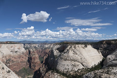 Great White Throne (hike734) Tags: angelslanding thenarrows greatwhitethrone