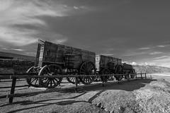 Harmony Borax Works Death Valley (Jose Matutina) Tags: california park trip wagon desert national deathvalley harmonyboraxworks sel1635z sonya7ii