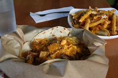 Lunch Pepper Box Style (MetaCookbook) Tags: food pdx greenchile newmexicanfood pepperboxcafe